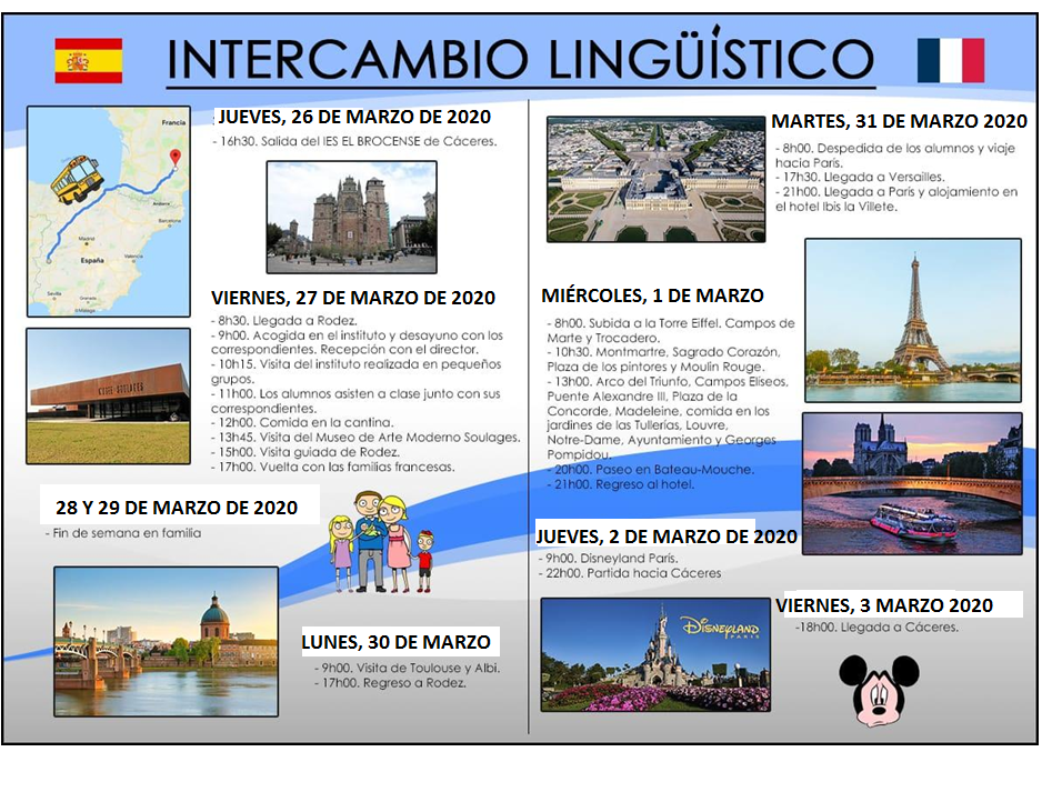 CARTEL DEL INTERCAMBIO CON RODEZ 2020 A
